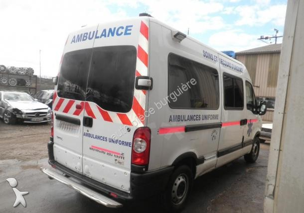ambulance occasion opel movano ambulance 2 5 cdti 145 cv. Black Bedroom Furniture Sets. Home Design Ideas