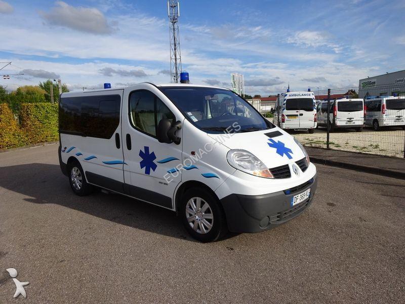 ambulance renault trafic l1h1 115 cv 2 0 dci 2007 occasion n 1715029. Black Bedroom Furniture Sets. Home Design Ideas