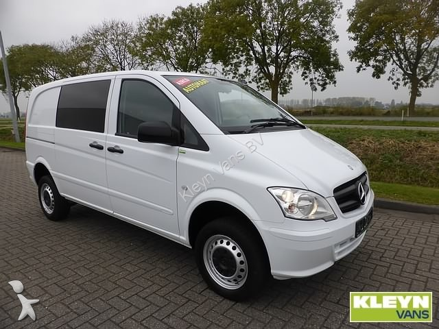 fourgon utilitaire mercedes vito 116 cdi 4x4 aut occasion. Black Bedroom Furniture Sets. Home Design Ideas