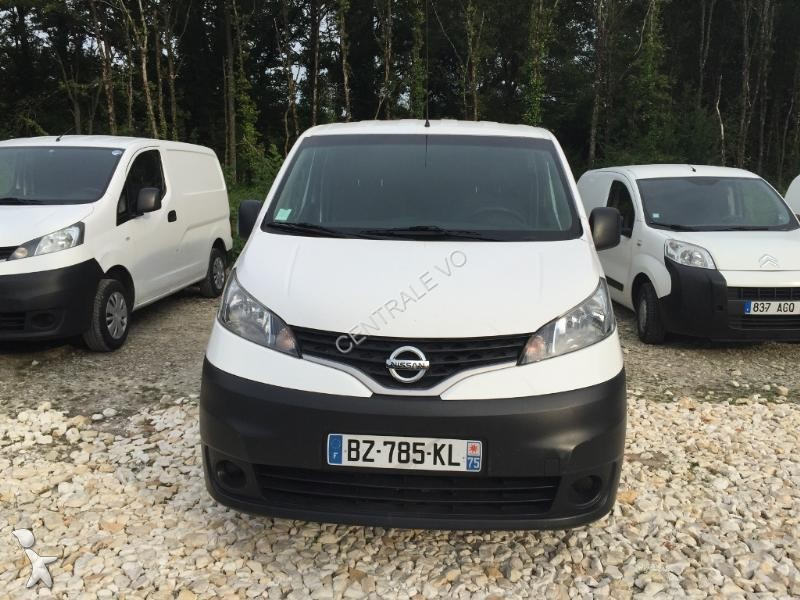 fourgon utilitaire nissan nv200 acenta 1 5 dci 90 occasion n 1327868. Black Bedroom Furniture Sets. Home Design Ideas