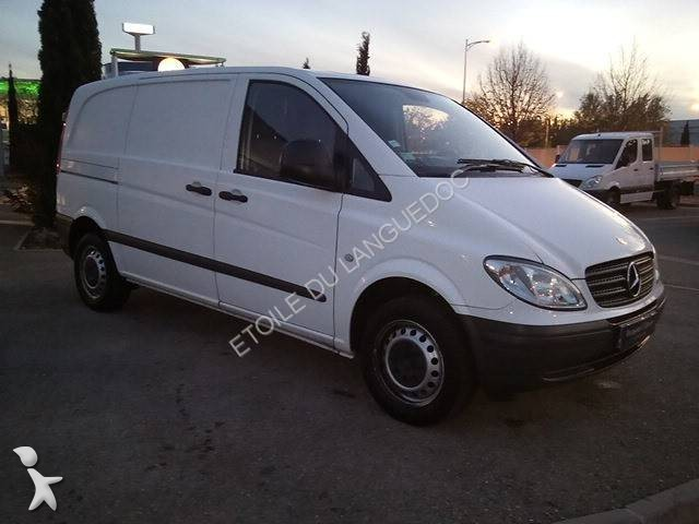 fourgon utilitaire mercedes vito 109 cdi compact occasion. Black Bedroom Furniture Sets. Home Design Ideas