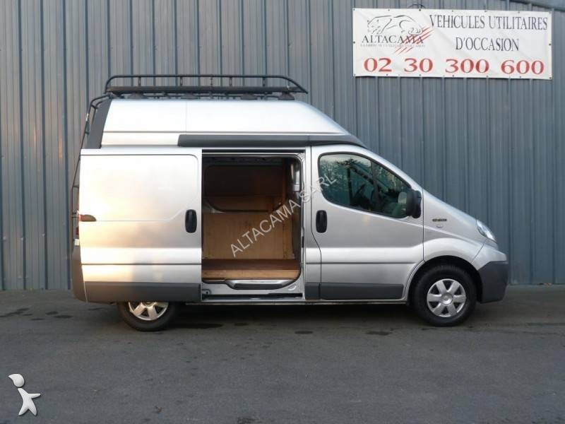 fourgon utilitaire renault trafic l1h2 2 0l dci 115 cv occasion