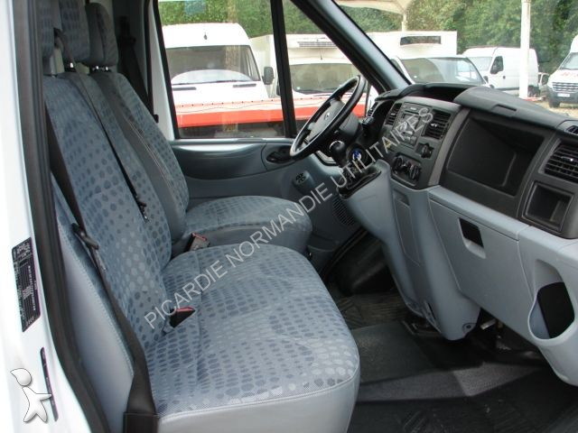 utilitaire ch ssis cabine ford transit 2 4 tdci 115 caisse. Black Bedroom Furniture Sets. Home Design Ideas