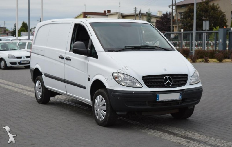 mercedes vito 4x4 compact occasion. Black Bedroom Furniture Sets. Home Design Ideas