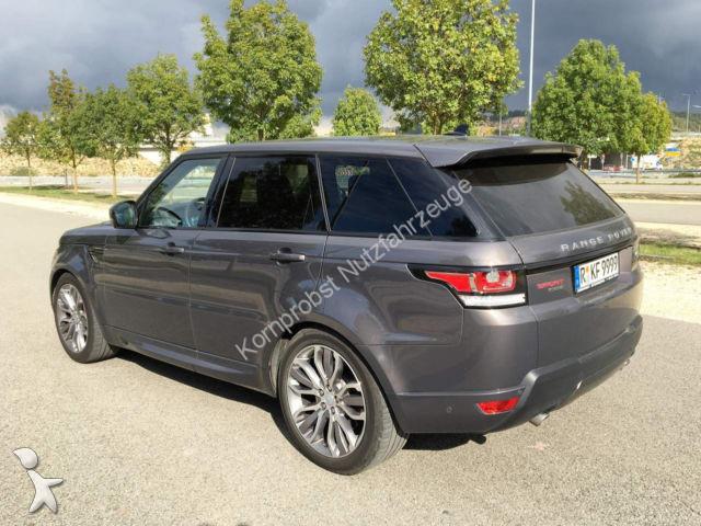 voiture land rover 4x4 suv range rover sport 21 zoll vollausstattung occasion n 1813336. Black Bedroom Furniture Sets. Home Design Ideas