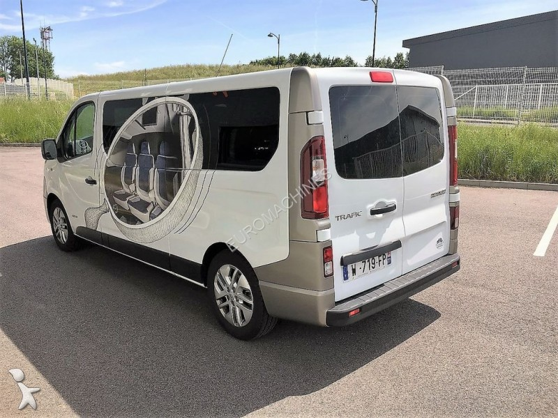 combi renault trafic l2h1 120 cv bi turbo neuf vip. Black Bedroom Furniture Sets. Home Design Ideas