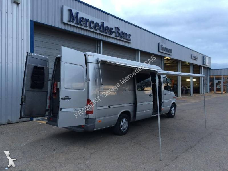 Camping car mercedes sprinter 316 cdi occasion n 1916393 for Garage mercedes utilitaire