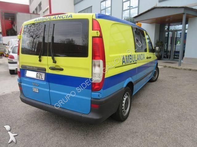 ambulance mercedes vito occasion n 1554369. Black Bedroom Furniture Sets. Home Design Ideas