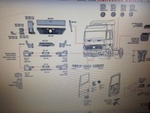 pièces détachées PL carrosserie Mercedes neuve