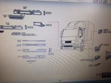 pièces détachées PL carrosserie DAF neuve