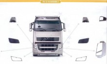 new Volvo bodywork truck part