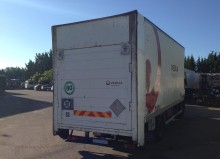 used Renault box container truck part