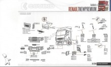 new Renault bodywork truck part
