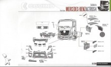 new Mercedes bodywork truck part