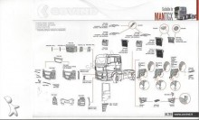 new MAN bodywork truck part