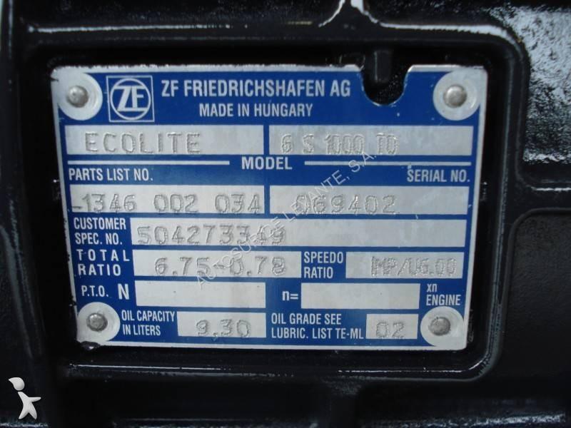 Ремонт и обслуживание механических кпп zf (16s151, 16s1820, 16s181, 16s221, 9s1310, 8s1350, 6s1000, 6s1200) и