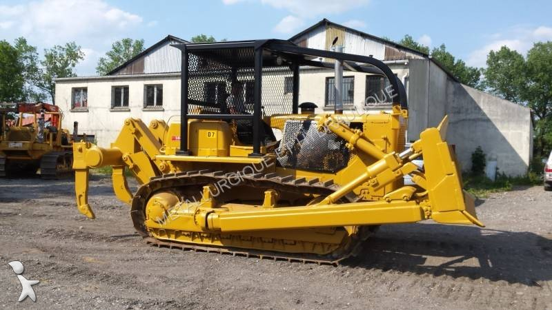 bulldozer caterpillar d7g d7g ripper occasion