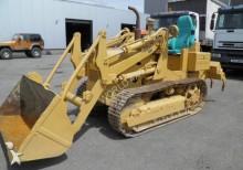 Fiat Pousseur sur chenille bulldozer