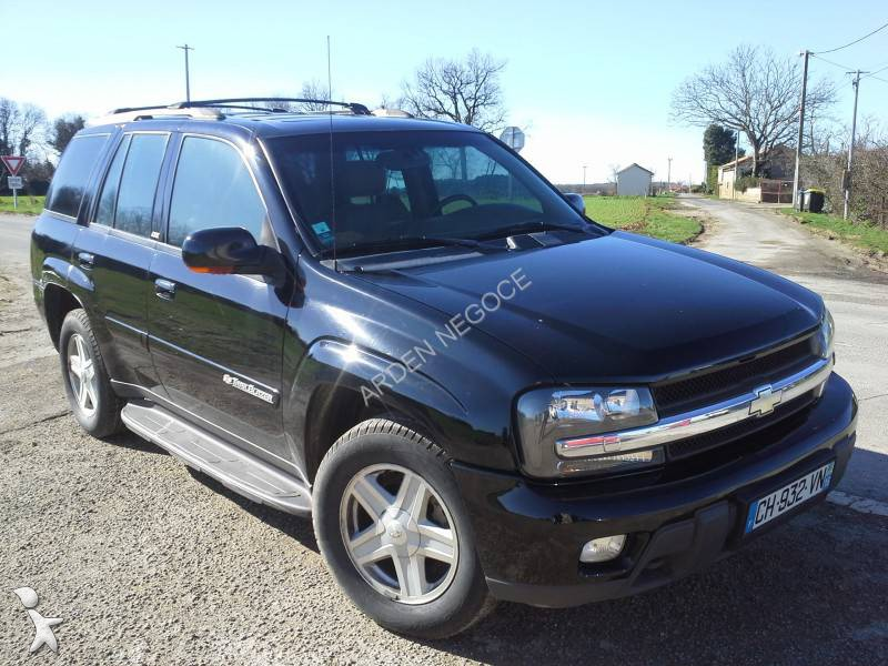 voiture 4x4 suv occasion chevrolet nc trailblaze essence