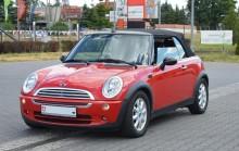 samochód kabriolet Mini używany