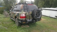 carro Toyota Land Cruiser 100