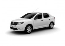 new Dacia sedan car