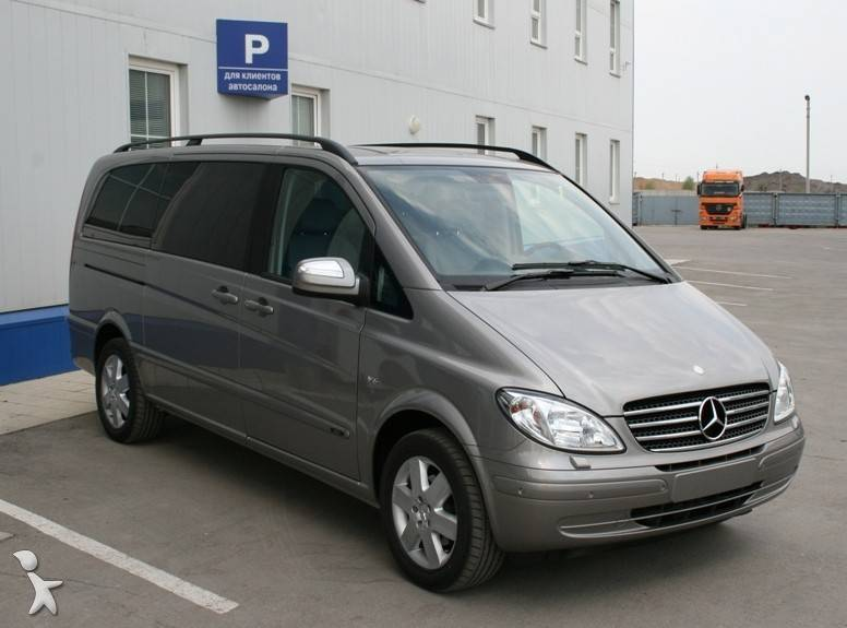 voiture monospace occasion mercedes viano 3 5 essence