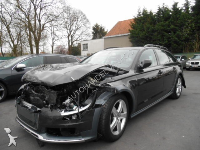 voiture break accident e audi a6 allroad gazoil annonce n 1276978. Black Bedroom Furniture Sets. Home Design Ideas