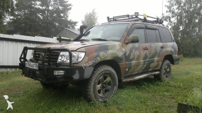 voiture 4x4 suv occasion toyota land cruiser 100 essence. Black Bedroom Furniture Sets. Home Design Ideas