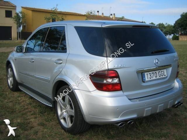 voiture 4x4 suv occasion mercedes classe ml ml 63amg. Black Bedroom Furniture Sets. Home Design Ideas