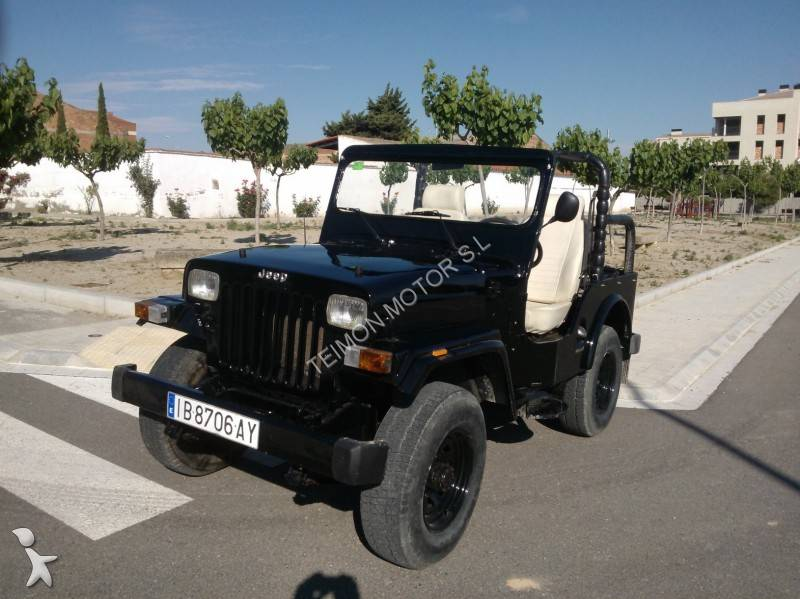 photos voiture jeep cabriolet jeep mahindra cj340 occasion 778197. Black Bedroom Furniture Sets. Home Design Ideas
