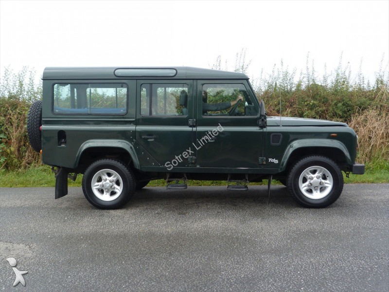 photos voiture land rover 4x4 suv land rover defender 110 county td5 occasion 1089486. Black Bedroom Furniture Sets. Home Design Ideas