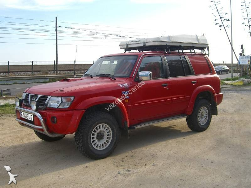 voiture 4x4 suv occasion nissan patrol gr rais aventuras. Black Bedroom Furniture Sets. Home Design Ideas