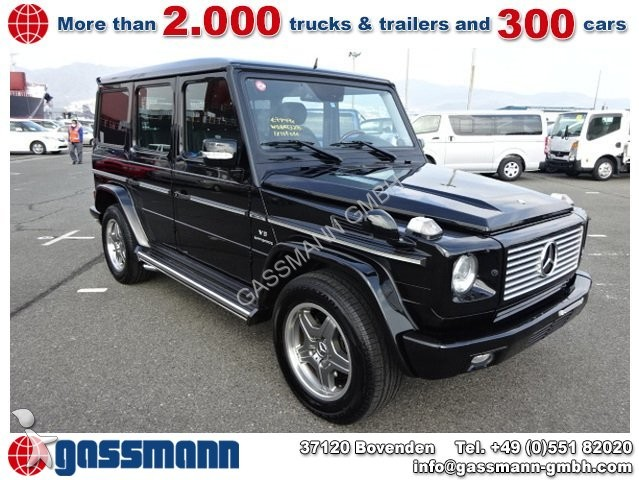 voiture pick up occasion mercedes nc g 55 amg l 4x4 v8 amg kompressor 4x vorhanden essence. Black Bedroom Furniture Sets. Home Design Ideas
