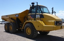 used Caterpillar articulated dumper
