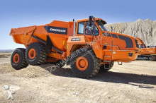 new Doosan articulated dumper