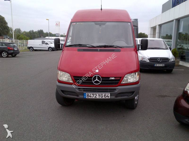 fourgon utilitaire mercedes sprinter 316 cdi 4x4 occasion. Black Bedroom Furniture Sets. Home Design Ideas