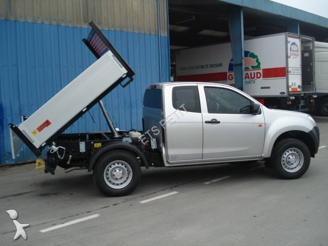 new isuzu d max three way side tipper van 4x4 n a n 771665. Black Bedroom Furniture Sets. Home Design Ideas
