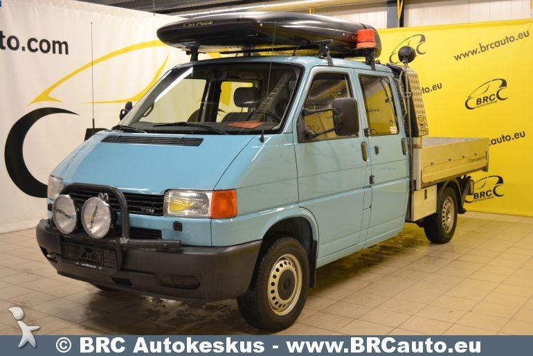 utilitaire plateau volkswagen transporter 4x4 kraana occasion n 625662. Black Bedroom Furniture Sets. Home Design Ideas