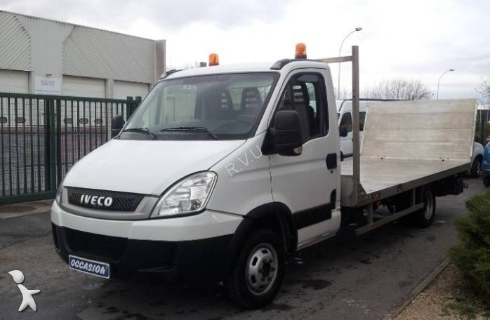 utilitaire plateau ridelles occasion iveco daily 35c15 annonce n 924323. Black Bedroom Furniture Sets. Home Design Ideas