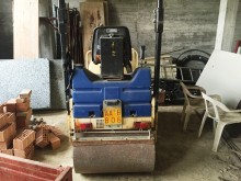 used Sicom single drum compactor