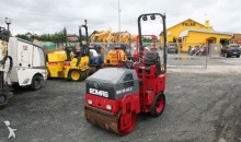 used Bomag wheeled roller