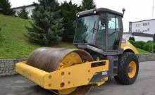 used Volvo single drum compactor