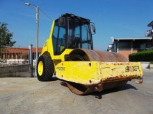 used Protec single drum compactor