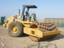 used Caterpillar single drum compactor