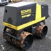 used Bomag sheep-foot roller