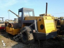 used Bomag single drum compactor