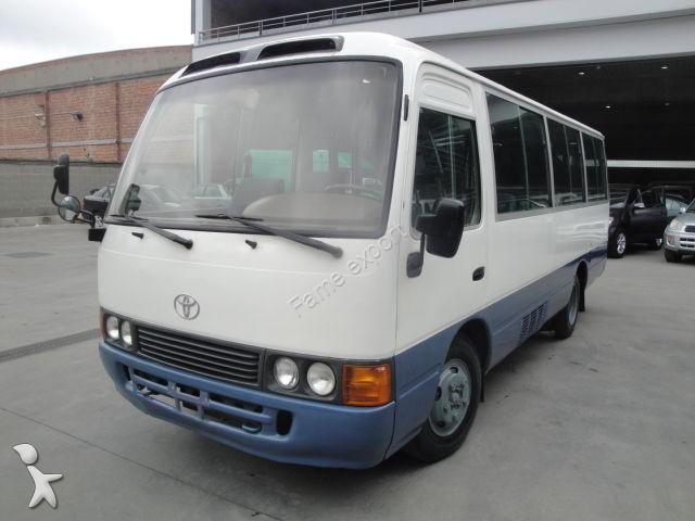 photos autobus toyota minibus toyota occasion 1052775. Black Bedroom Furniture Sets. Home Design Ideas