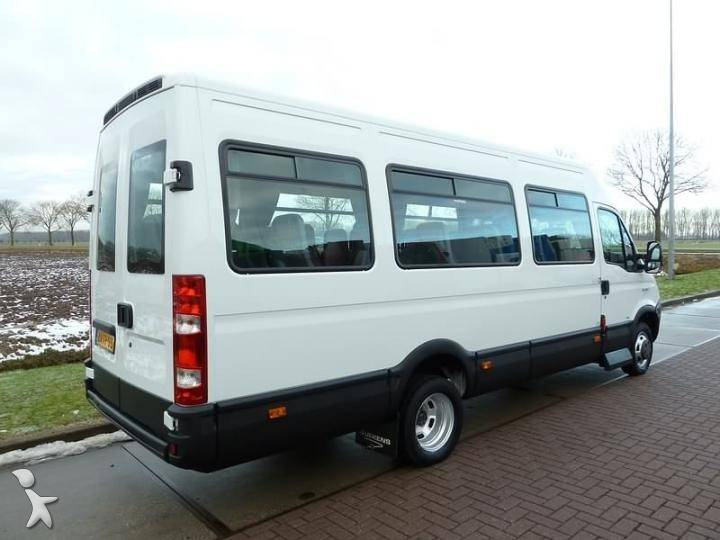 minibus iveco daily 50c15 occasion n 277195. Black Bedroom Furniture Sets. Home Design Ideas