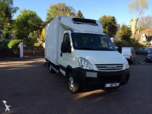 used Iveco negative trailer body refrigerated van